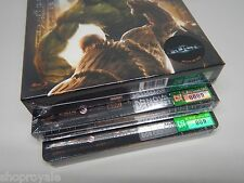 The Incredible Hulk Blu-Ray Steelbook [Korea] Novamedia One Click NE009 OOS/OOP