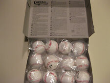 Lot of 12 Official Size CORKBALL Cork Ball ~ With Official Rules~ FUN for ALL