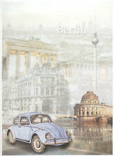 Rice Paper for Decoupage Decopatch Scrapbook Craft Sheet Classic VW Beetle