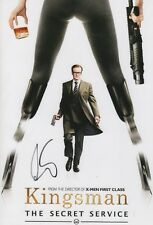 "Colin firth ""Kingsman"" autógrafo 20x30 cm imagen"