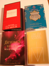 4 PERFUME MINI SAMPLES VIALS BEYONCE KATY PERRY LADY GAGA XMAS STOCKING FILLERS