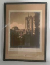 1915 Pan Pacific Expo Silver Gelatin Photo Print w/ Palace of Fine Arts SIGNED