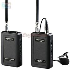 Saramonic SR-WM4C Wireless Lavalier Microphone System for dslr Camera Camcorders