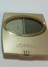 L'Oreal Wear Infinite Eye Shadow Duo Forest #312 NEW.