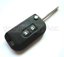 Modify Flip Remote Key Shell Case For Nissan Almera K12 Note Navara Qashqai 2 BT
