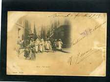 GEISER-ALGER,- BÓNE- FÉTE ARABE 6 FEB. 1903 TO HAVANA,  MARZ 5    carte postale