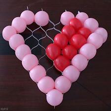 Birthday Wedding Party Decoration DIY Heart Shaped Plastic Grid Balloon Tool