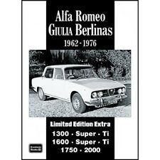 Alfa Romeo Giulia Berlinas Limited Edition Extra 1962-1976 book paper car