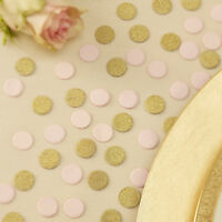Gold & Pink Table Confetti - Wedding Table Decoration/Birthday Party