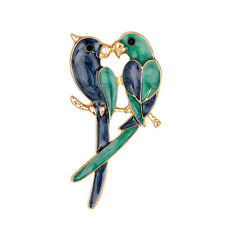 Sweet Love New Fashion Animal Jewelry Gold Plated Christmas Drip Brooch Pin MW