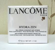 LANCOME HYDRA ZEN GEL CREAM MOISTURISER 50ML - CELLOPHANE WRAPPED