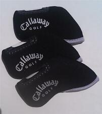 10 x Iron Head Covers - Suit Callaway - New - Black
