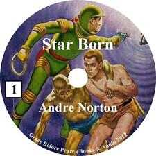 Star Born, Andre Norton Ultimate Sci-Fi Adventure unabridged Audiobook 1 MP3 CD