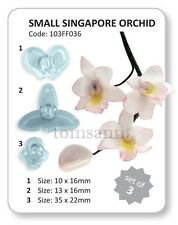 JEM Small Singapore Orchid cutters #103FF036 gum paste cake decorating fondant