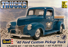 Revell Monogram 1940 Ford Custom Pickup W/ Flathead engine model kit 1/24