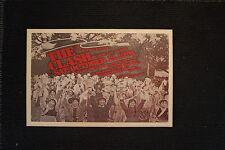 The Clash 1979 Tour Poster Kezar Pavilion San Francisco