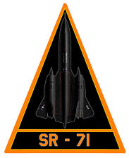 SR71 BLACKBIRD US AIR FORCE AUTOCOLLANT STICKER 12cmX10cm AV059 AVION