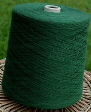 Knitting Machine Yarn Top Quality 3/30s 2 Kilos Acrylic Bottle Green IND20.03