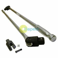 "39"" inch Knuckle Breaker Bar 3/4"" Drive Chrome Vanadium Car Garage Professional"