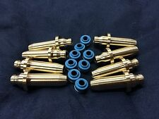 HONDA SOHC CB500 CB550 BRONZE VALVE GUIDES WITH VITON SEALS
