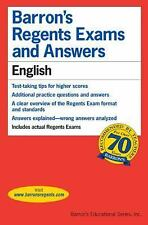 NEW - Barron's Regents Exams and Answers: English by Chaitkin, Carol