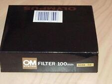 OLYMPUS OM ZUIKO 100mm O2 ORANGE FILTER NEW IN BOX