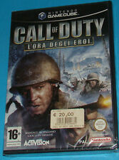 Call of Duty - L'ora degli eroi - GameCube GC Nintendo - PAL New Nuovo Sealed