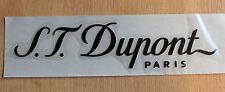 S.T. Dupont großer Aufkleber für Fenster. Reine Händlerware, keine Ladenware!