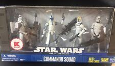 2009 Star Wars The Clone Wars K-Mart Exclusive Action Figures  - COMMANDO SQUAD