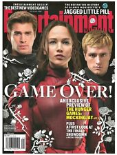 2015 Entertainment Weekly Hunger Games Mockingjay Hemsworth Lawrence Hutcherson!