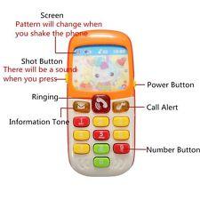 Électronique Téléphone Mobile Phone Jouet Sonore EVEIL Pour Bébé Enfant Educatif