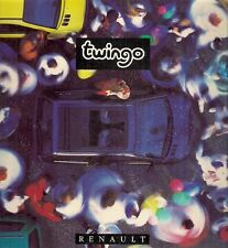 Renault Twingo 1994-95 French Market Sales Brochure Standard Pack Easy