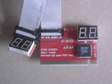 Motherboard Diagnostic Cards Single chip exit display PC POST debug card