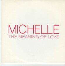 (EB421) Michelle, The Meaning Of Love - 2004 DJ CD
