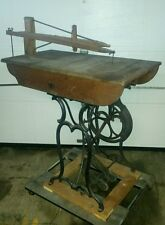 Antique/Vintage/Primitive WEED Treadle/Pedal Scroll Woodworking Saw *RARE*