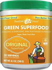 Amazing Grass Green SuperFood Original, 30 Servings, 8.5 Ounces, New FREE SHIP