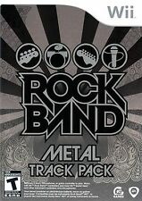 ROCK BAND METAL TRACK PACK Wii