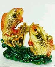 Feng Shui/ Vastu :  Gold Fish Success Prosperity and good Vibration Wealth 2.75""