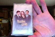 Mad Dog and Glory- soundtrack- Elmer Bernstein- new/sealed cassette tape