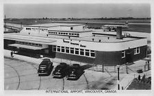 Photo. 1948=50. Vancouver, Canada.  Vancouver International Airport