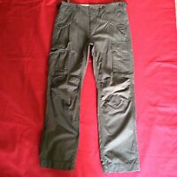 TOP QUALITY COMBAT CARGO TROUSERS ARMY PANTS 6 PRESS STUD POCKETS GREEN BEIGE