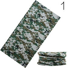 Unisex Camouflage Scarf Headband Face Mask Winter Warm Bandana Headwear Scarves