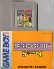 Nintendo Game Boy Gallery 5 Juegos En 1 Carro Juego Y Manual Solo