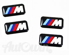 BMW 3Series E90 Model 2005 2006 2007 2008 Set 4 Small M Stick-on Rims Emblem