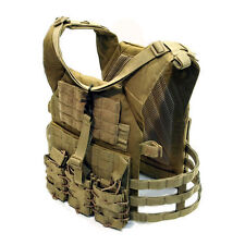 DevGru NSW SFG Molle MJPC Modular Jumpable Plate Carrier Vest Armor Coyote Brown