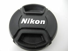 NIKON SNAP CAP FRONT LENS CAP 52MM WITH SILVER LOGO