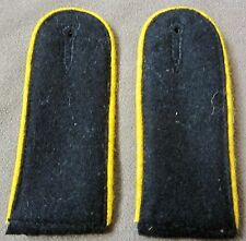 WWII GERMAN WAFFEN ENLISTED COMBAT TUNIC SHOULDER BOARDS-RECON