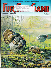 FUR-FISH-GAME MAGAZINE MAY 1998 WILD TURKEYS -COLLECTIBLE ISSUE- GOOD MAG