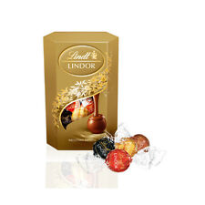 Lindt LINDOR Assorted Milk, White & Dark Chocolate Candies Choco Balls 200g