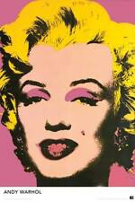 Marilyn Monroe Andy Warhol Pop Art 24x36 Fine Art Print Poster Wall Decor Z132
